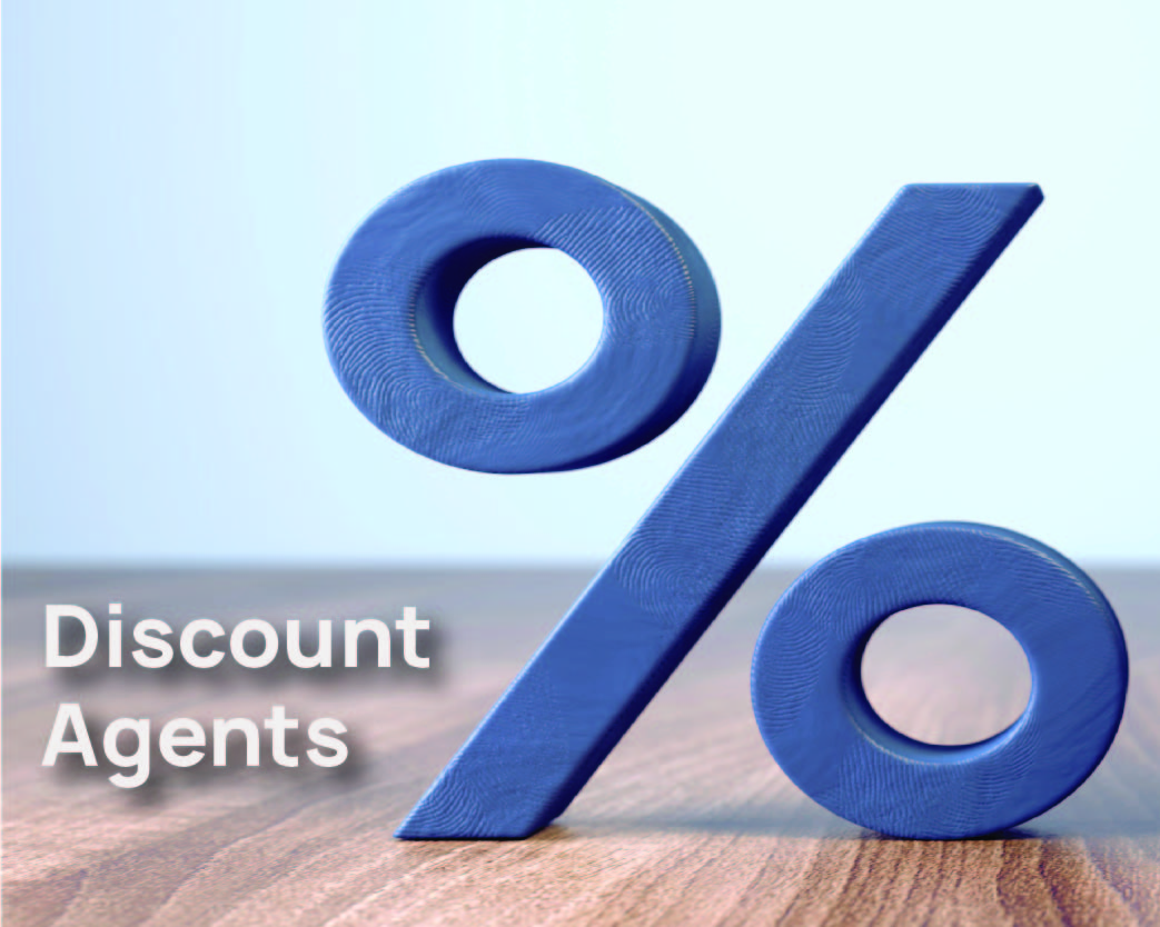 What is a discount agent?